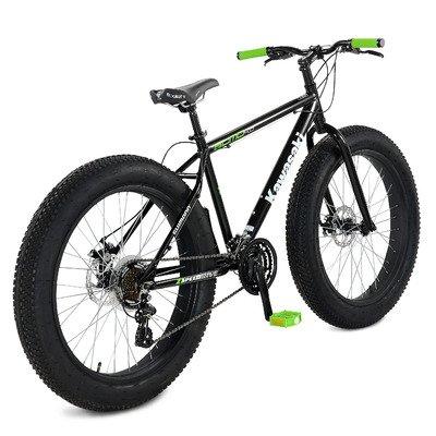 Kawasaki Sumo Fat Tire Bike, 26 x 4 inch Wheels, 18.5 inch Frame ...