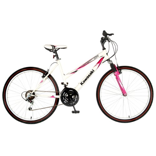 Kawasaki K26G Hardtail Mountain Bike, 26 inch Wheels, 18 inch Frame ...