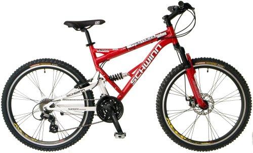 Schwinn Protocol 1 0 Men S Dual Suspension Mountain Bike 26 Inch Wheels