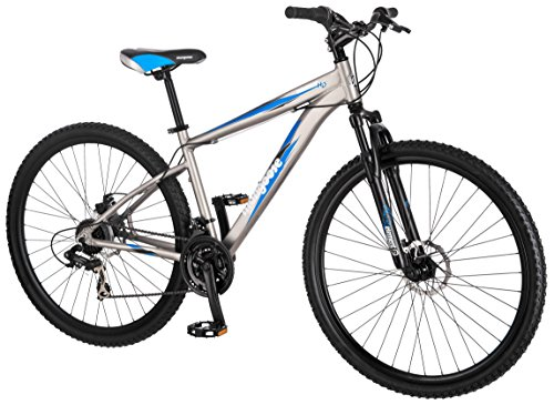 Mongoose Proxy 29 Inch Mountain Bicycle Matte Grey 18 Inch Frame
