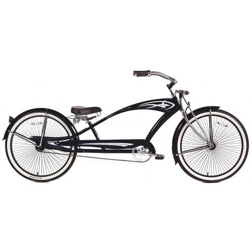 Micargi GTS Beach Cruiser Bike Black Puma 26Inch