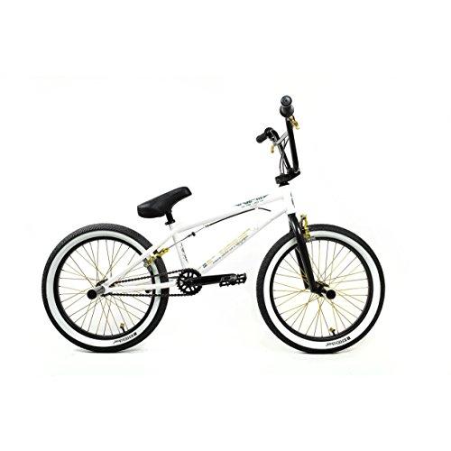 KHE Bikes 25th Freestyle BMX Bicycles, White |